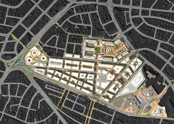 Ammans New Downtown Project In The Abdali Area CSBE